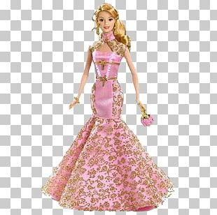 Chinese New Year Barbie Doll Happy New Year Barbie Doll PNG