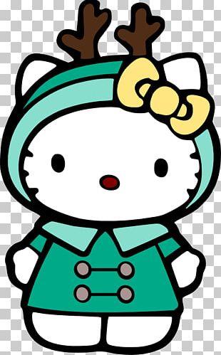 Hello Kitty Drawing Christmas PNG