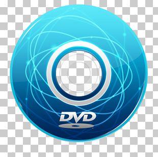 Blue Wheel Data Storage Device Aqua PNG