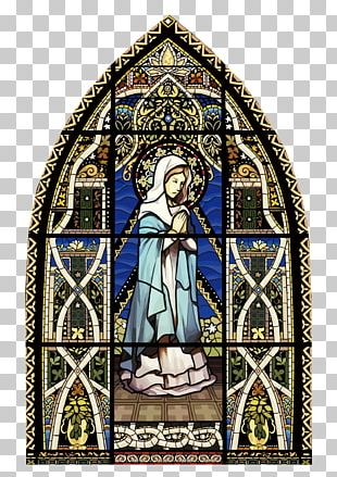 Stained Glass Window Church PNG
