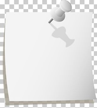 Paper Post-it Note Drawing Pin PNG