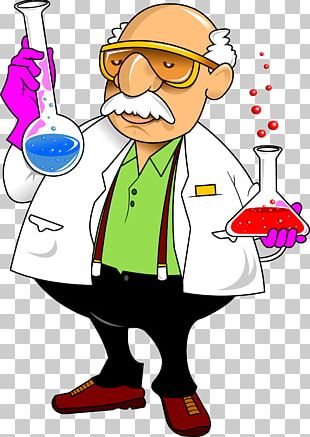 Laboratory Chemistry Cartoon Science PNG