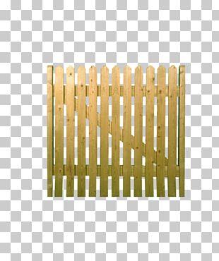 Picket Fence Gate Garden Lumber PNG
