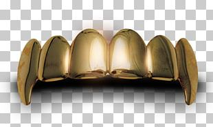 Gold Teeth Human Tooth PNG
