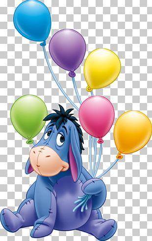 Eeyores Birthday Party Piglet Winnie The Pooh PNG