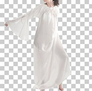 Middle Ages Gown Costume Dress Nightshirt PNG