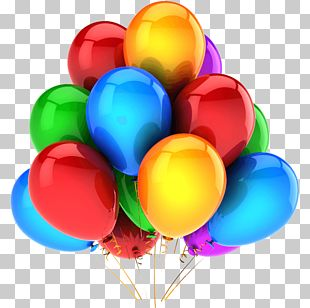 Two-balloon Experiment Children's Party Birthday PNG
