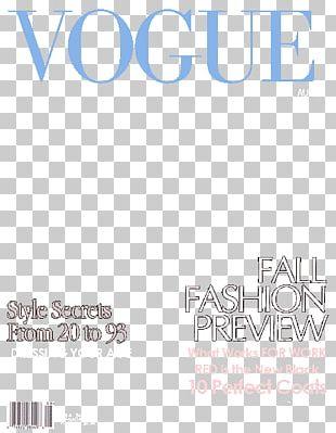 Vogue Paris Magazine Time Book Cover PNG