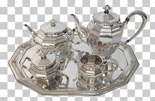 Tea Set Teapot Tea Room Illustration PNG