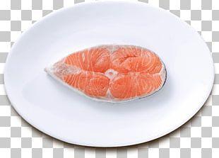 Smoked Salmon Sashimi Lox Fish Slice Recipe PNG