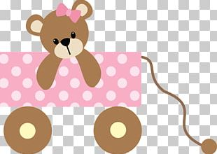 Bear Wedding Invitation Baby Shower Child Infant PNG