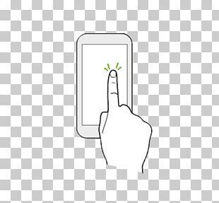 Paper White Thumb Technology Pattern PNG