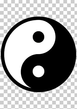 Yin And Yang Symbol Sign PNG