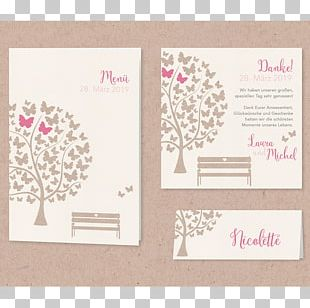 Wedding Invitation Butterfly Aachen Place Cards PNG