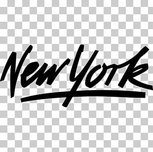 New York City Logo Sticker Wall Decal PNG