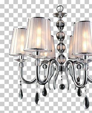 Chandelier Lamp Light Fixture Lighting PNG
