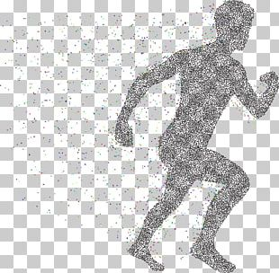 Physics Particle Man PNG