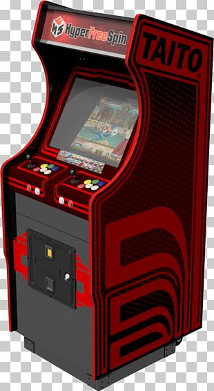 Space Invaders Extreme 2 Elevator Action Qix Arcade Cabinet Taito PNG