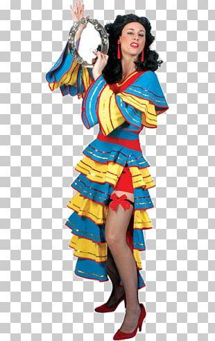Carnival In Rio De Janeiro Brazilian Carnival Costume Dress PNG