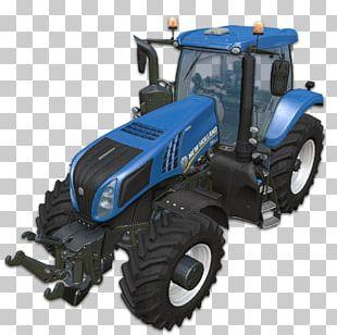 Farming Simulator 15 Farming Simulator 17 New Holland Agriculture Tractor PNG