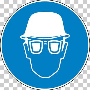 Eye Protection Hard Hats Goggles Symbol Personal Protective Equipment PNG