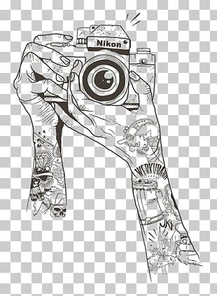 Drawing Camera Sketch PNG
