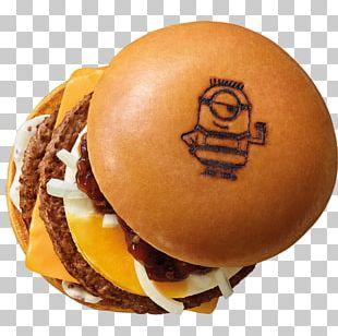 Cheeseburger Hamburger Breakfast Sandwich McDonald's Minions PNG