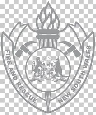 New South Wales Fire & Rescue NSW Fire Department Organization Logo PNG