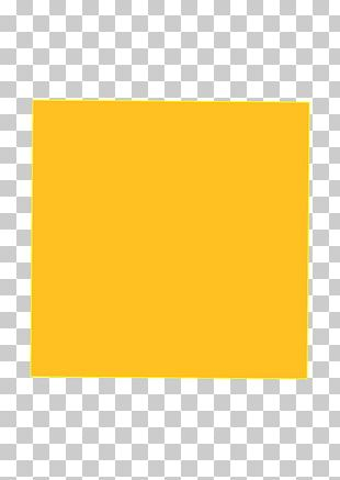 Yellow Color Gel Paper Amber PNG