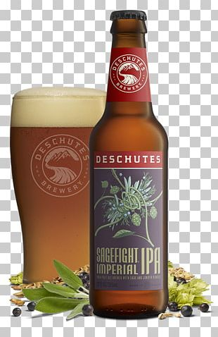 Deschutes Brewery Beer India Pale Ale PNG