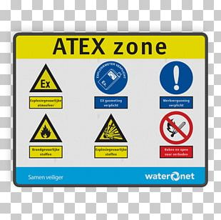 ATEX Directive Traffic Sign Safety User Identifier PNG