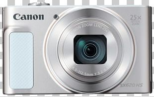Point-and-shoot Camera Canon PowerShot SX610 HS Zoom PNG