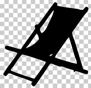 Eames Lounge Chair Deckchair Chaise Longue Silhouette PNG