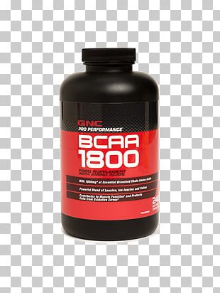Dietary Supplement Branched-chain Amino Acid Leucine GNC PNG