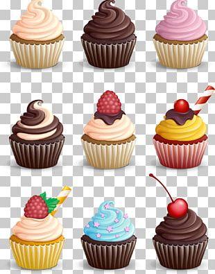 Cupcake Muffin Chocolate PNG