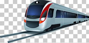 Rapid Transit Train Cartoon PNG