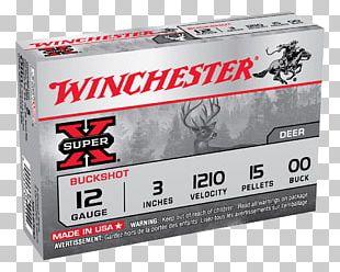 Shotgun Shell Winchester Repeating Arms Company Firearm Shotgun Slug PNG
