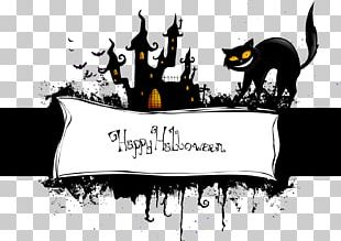 Halloween Wall Decal Party Poster PNG