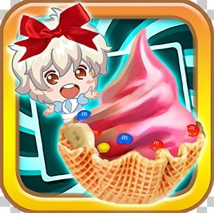 Ice Cream Froyo Party! Frozen Yogurt Sundae IPhone 4 PNG