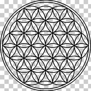 Overlapping Circles Grid Sacred Geometry Geometric Shape Vesica Piscis PNG