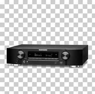 AV Receiver Marantz NR1608 Home Theater Systems Ultra-high-definition Television Professional Audiovisual Industry PNG