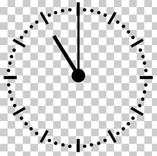 Digital Clock Clock Face PNG