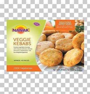Vegetarian Cuisine Fast Food Kebab Veggie Burger Pakora PNG