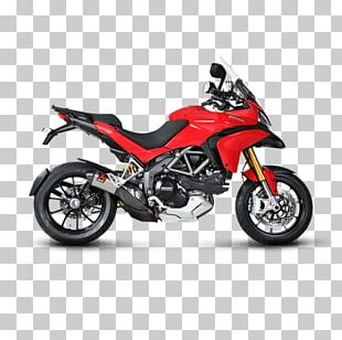 Ducati Multistrada 1200 Exhaust System Car Motorcycle PNG