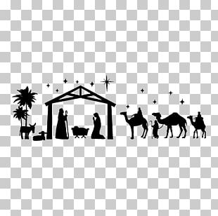 Nativity Scene Manger Christmas Nativity Of Jesus PNG