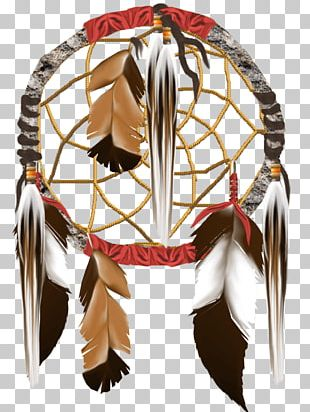 Dream Catcher Feathers PNG