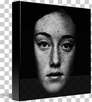 Portrait Photography Freckle Black And White Portrait Photography PNG