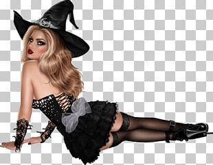 Witch Halloween Costume Party PNG