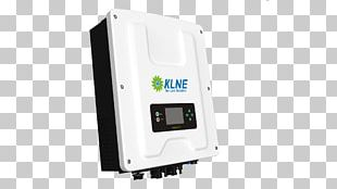 Solar Inverter Grid-tie Inverter Power Inverters Electronics Solar Power PNG