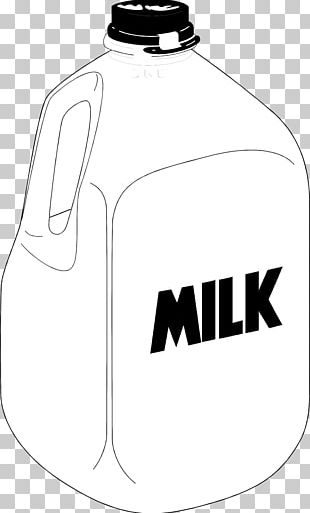 Square Milk Jug Gallon Chocolate Milk PNG